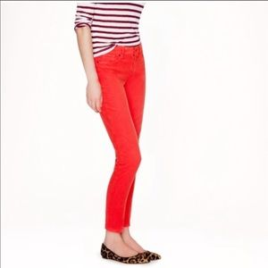 JCrew toothpick coral cords